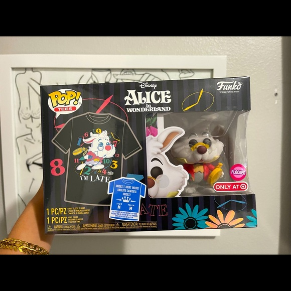 Funko POP! Disney 2XL-Tee Alice In Wonderland